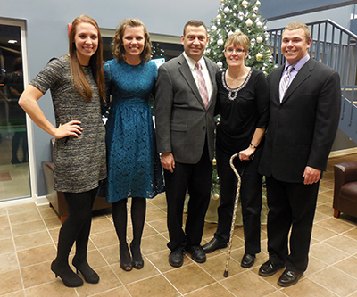 [Pastor Bauer & Family]